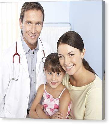 Family Doctor Canvas Print