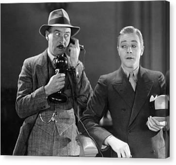 Film Still: Telephones Canvas Print by Granger
