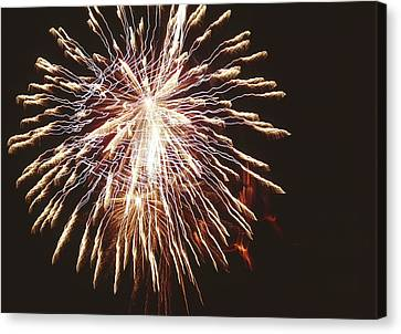 Pyrotechnics Canvas Print - Firework Display by Magrath Photography