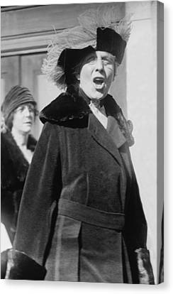 First Lady Florence Harding 1860-1924 Canvas Print by Everett