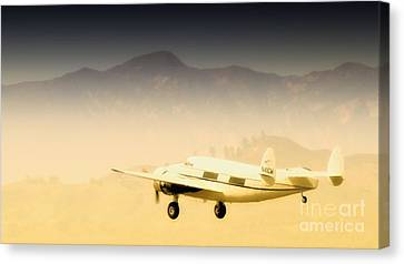 Flight To Macao Canvas Print by Gus McCrea