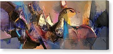 Follow The Dream Canvas Print by Ognian Kuzmanov