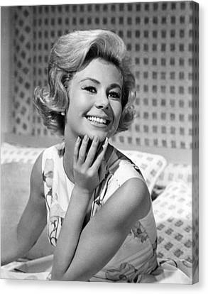 For Love Or Money, Mitzi Gaynor, 1963 Canvas Print by Everett