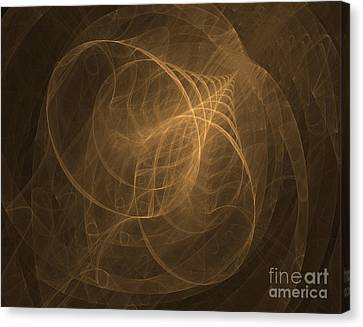Fractal Image Canvas Print by Ted Kinsman
