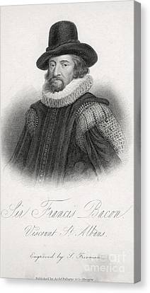 Rational Canvas Print - Francis Bacon, English Polymath by Science Source