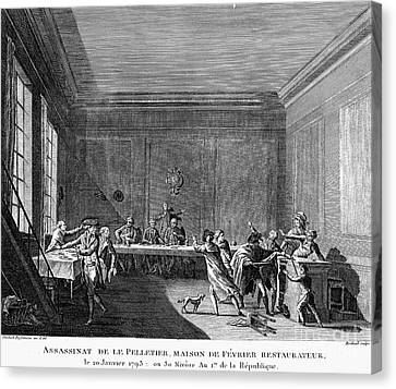 French Revolution, 1793 Canvas Print by Granger