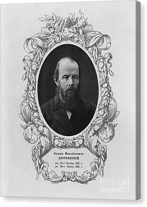 Fyodor Dostoyevsky, Russian Author Canvas Print