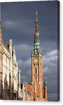 Gdansk Old Town Canvas Print by Artur Bogacki