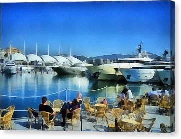Genova Salone Nautico Internazionale - Genoa Boat Show Canvas Print