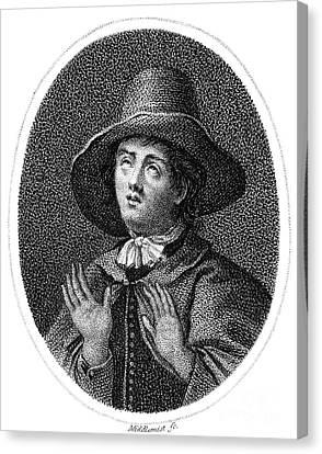George Fox (1624-1691) Canvas Print by Granger