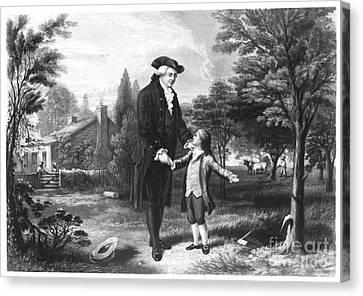 George Washington (1732-1799) Canvas Print