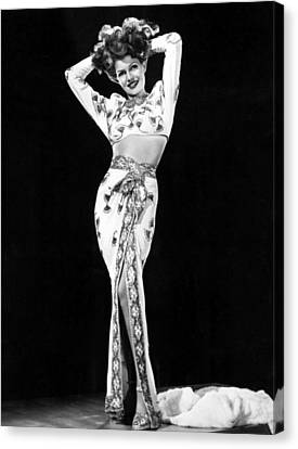 Gilda, Rita Hayworth, 1946 Canvas Print