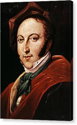 Gioacchino Rossini Canvas Print by Granger