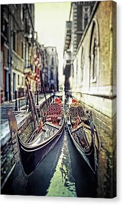 Gondolas Canvas Print by Joana Kruse