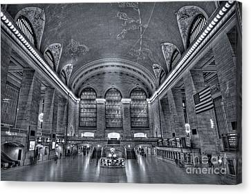 Subway Canvas Print - Grand Central Station by Susan Candelario