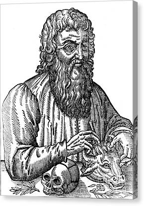 Rational Canvas Print - Hippocrates, Greek Physician, Father by Science Source