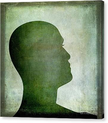 Human Representation Canvas Print by Bernard Jaubert