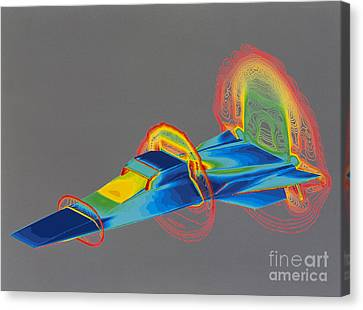 Hyperx Hypersonic Aircraft Canvas Print by Science Source
