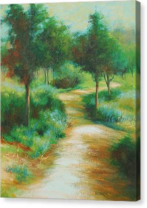 Invitation Canvas Print by Peggy Wrobleski