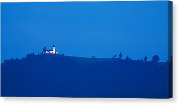 Jamnik Church Of Saints Primus And Felician Canvas Print by Ian Middleton