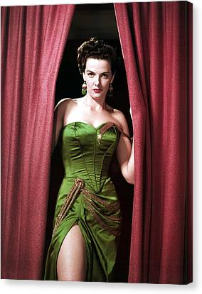 Jane Russell, Portrait Canvas Print by Everett