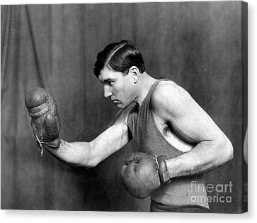 Jess Willard (1883-1968) Canvas Print by Granger