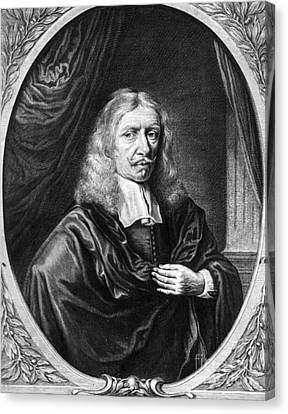 Johannes Hevelius, Polish Astronomer Canvas Print by Science Source