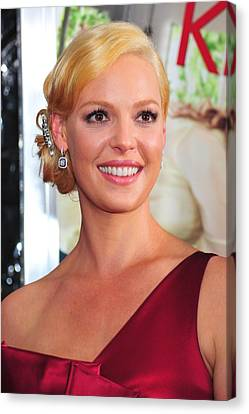 Katherine Heigl At Arrivals For Life As Canvas Print by Everett