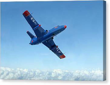 L-29 Delfin Standard Jet Trainer Canvas Print by Daniel Karlsson