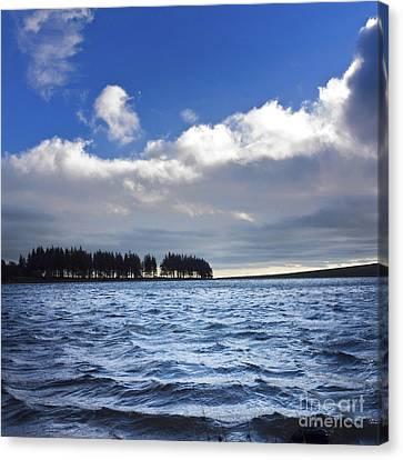 Lake In Auvergne Canvas Print by Bernard Jaubert