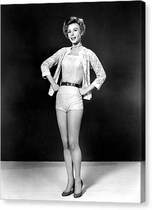 Lets Be Happy, Vera-ellen, 1957 Canvas Print by Everett
