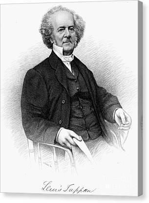 Lewis Tappan (1788-1873) Canvas Print by Granger