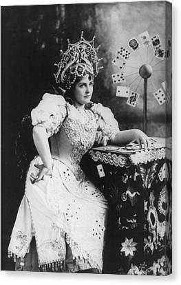 Lillian Russell 1861-1922, American Canvas Print by Everett