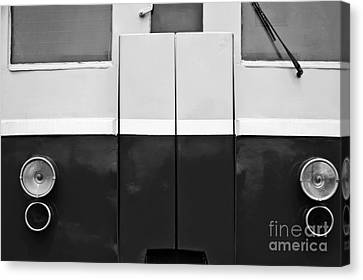 Locomotive Detail Canvas Print