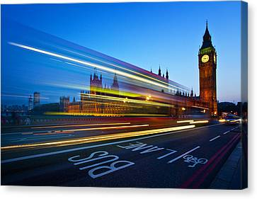 Big Ben Canvas Print - London Big Ben by Nina Papiorek