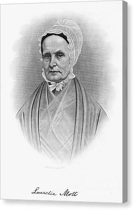 Lucretia Coffin Mott Canvas Print by Granger