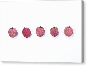 Lychee Canvas Print by Sot