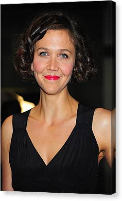 Maggie Gyllenhaal At Arrivals For The Canvas Print by Everett