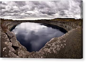 Marmora Mine Canvas Print