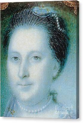 First Ladies Canvas Print - Martha Washington, American Patriot by Photo Researchers