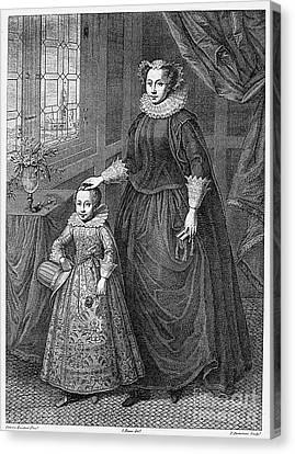 Mary, Queen Of Scots Canvas Print by Granger
