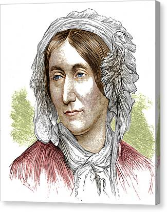 Mary Somerville, Scottish Polymath Canvas Print by Science Source
