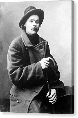 Maxim Gorky 1868-1936 Wrote Canvas Print