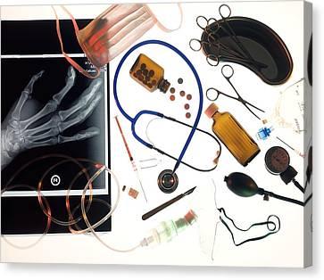 Medical Treatment, Conceptual Image Canvas Print by Tek Image