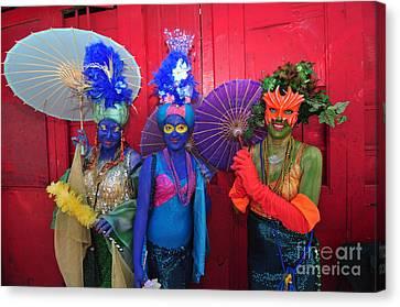 Mermaid Parade 2011 Coney Island Canvas Print by Mark Gilman