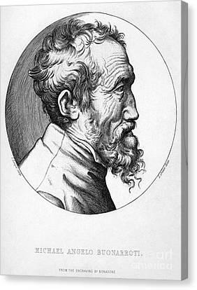 Michelangelo (1475-1564) Canvas Print by Granger