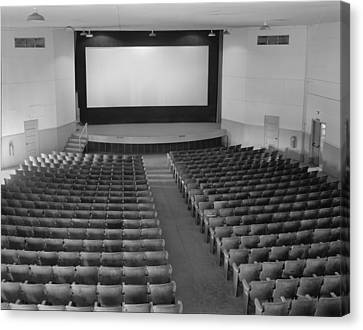 Movie Theaters, The Fort Mccoy Canvas Print by Everett