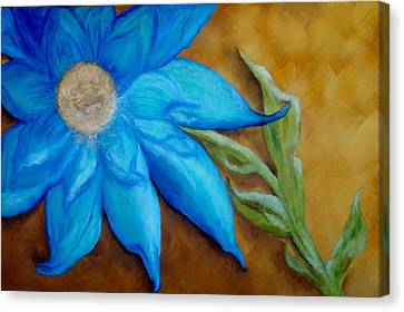 Canvas Print featuring the painting My Only Sunshine by Annamarie Sidella-Felts