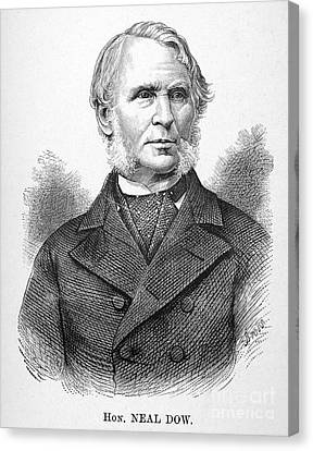 Neal Dow (1804-1897) Canvas Print by Granger