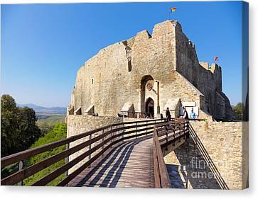 Neamt Fortress Canvas Print by Gabriela Insuratelu
